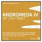 Andromeda IV - 1st Fill St.Martinique Rum Cask, 58,1 %, 0,7 Lt.