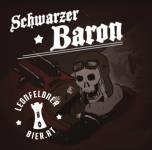 Leonfeldner Biermanufaktur - Schwarzer Baron, STW 14° Plato, Alk 6,4 % vol; Farbe EBC 147,5; Bitterer IBU 28,4, 0,33l Flasche