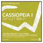Cassiopeia I - Speyside Single Malt  - 1st Fill Oloroso Sherry Hogshead, 62,5 %, 0,7 Lt.