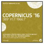 Copernicus`16 - First Fill Bourbon Barrel, 47,1 %, 0,7 Lt.