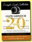 Glen Garioch 1993, SCC, Bourbon Hogshead # 808, 55,1 % ABV