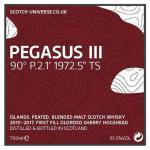 Pegasus III - Peat Blend, 61,0 % 0,7 Lt.