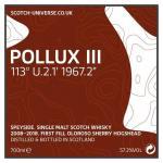 Pollux III - Oloroso Sherry Hogshead, 57,3 %, 0,7 Lt.