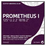 Prometheus I - Oloroso Sherry Butt, 58,7 %, 0,7 Lt.