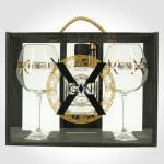 X-Gin Aphrodisiac, Wooden Giftpack, 46 %, 0,5l