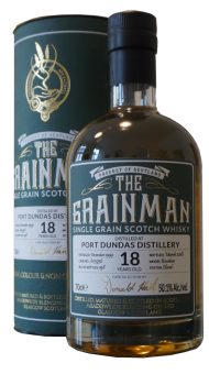 Port Dundas 1999, 18y, The Grainman, Fass Nr. 603936, 50,1% ABV, 0,7l