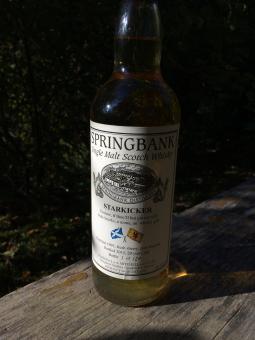 Springbank, Starkicker, 20y, fresh sherry hogshead, port finish, 49,5 % ABV, 0,7l