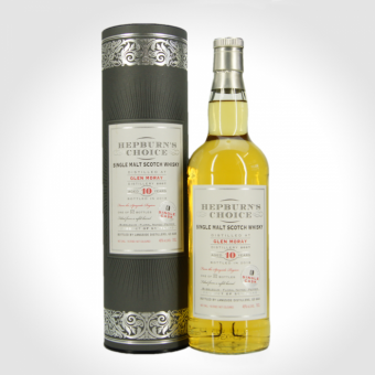 Glen Moray 2007, Hepburn's Choice, 10 Jahre, refill barrel, 46 % 0,7l