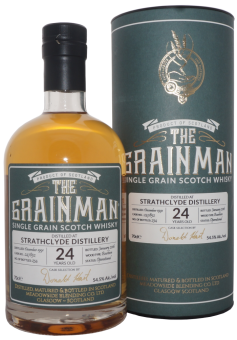 Strathclyde, 24y, The Grainman, Single Grain Scotch Whisky, 54,5 % ABV, 0,7l