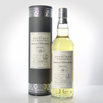Tomintoul 2006, Hepburn´s Choice, 10 Jahre, Refill Butt, 46 %, 0,7l