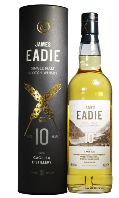Caol Ila 2007, James Eadie, Singel Malt Scotch Whisky, 10y, 46 %, 0,7l