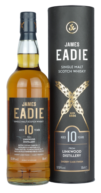 Linkwood 2008, James Eadie, Single Cask, Oloroso Sherry Butt Finish, 10y, 57,9%, 0,7l