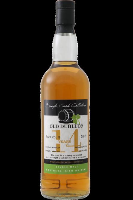 Old Dunluce 1995, North Irish Whisky, Sherry Hogshead, 15y, 56,9%, 0,7l
