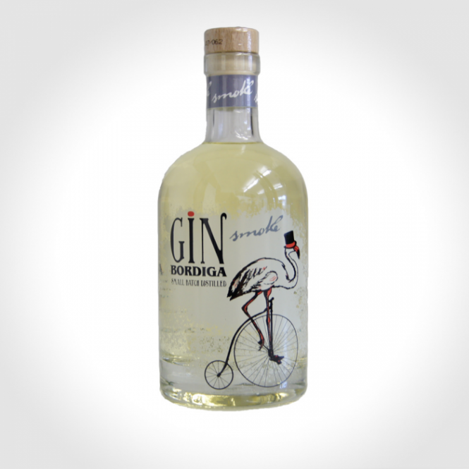 Bordiga Premium Smoke Gin, 42 %, 0,7l