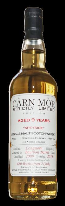 Longmorn 2009, SLE, Bourbon Barrel, 46 % ABV, 0,7l