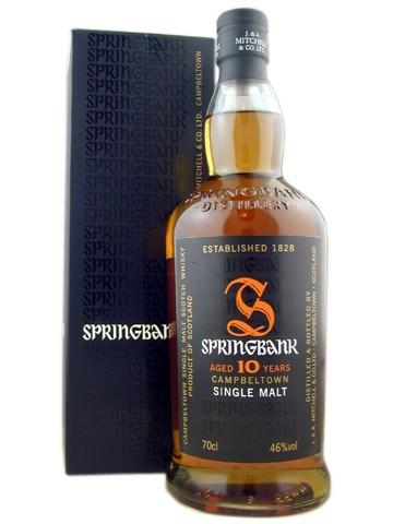 Springbank 10y, 46 % ABV