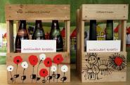 2er Kiste für Wein- oder Whiskyflaschen