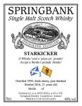 Springbank, Starkicker, 21y, fresh sherry hogshead, port finish, 48 % ABV, 0,7l