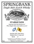 Springbank, Starkicker 21y, fresh sherry pipe, 49 % ABV, 0,7l